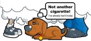 Please no more cigarettes today